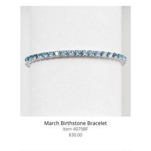 Touchstone Crystal by Swarovski March Birthstone
